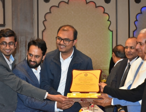 EAR Facilitates us with Award of Excellence | Indibni