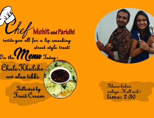 Mohit and Paridhi'sChaat corner!